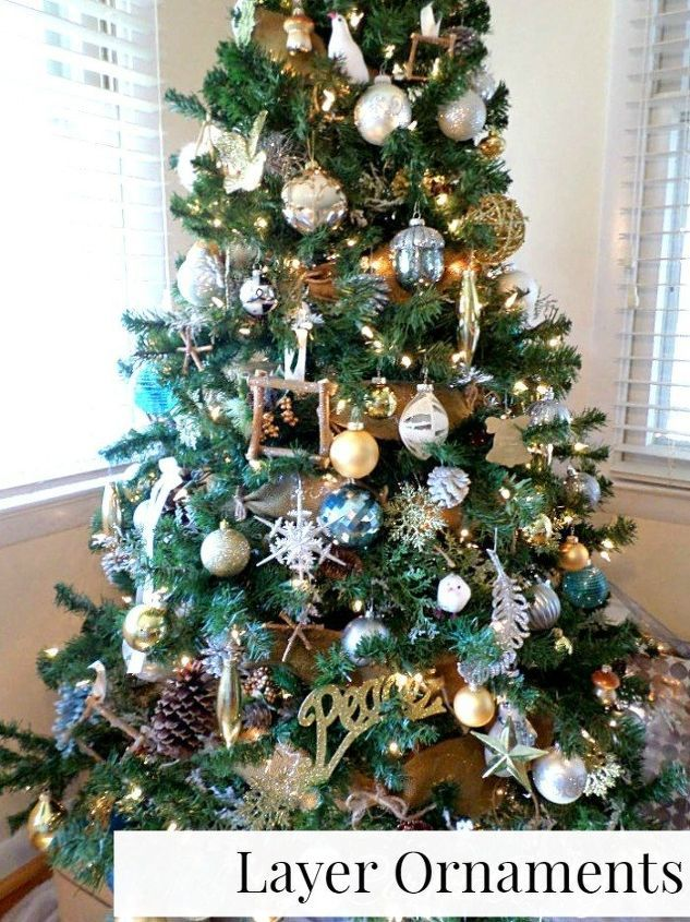 How To Make The Most Of A Cheap Christmas Tree Christmas Decorations Cheap Cheap Christmas Trees Wall Christmas Tree
