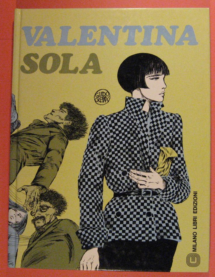 Valentina Sola by Guido Crepax by Pistilbooks on Etsy