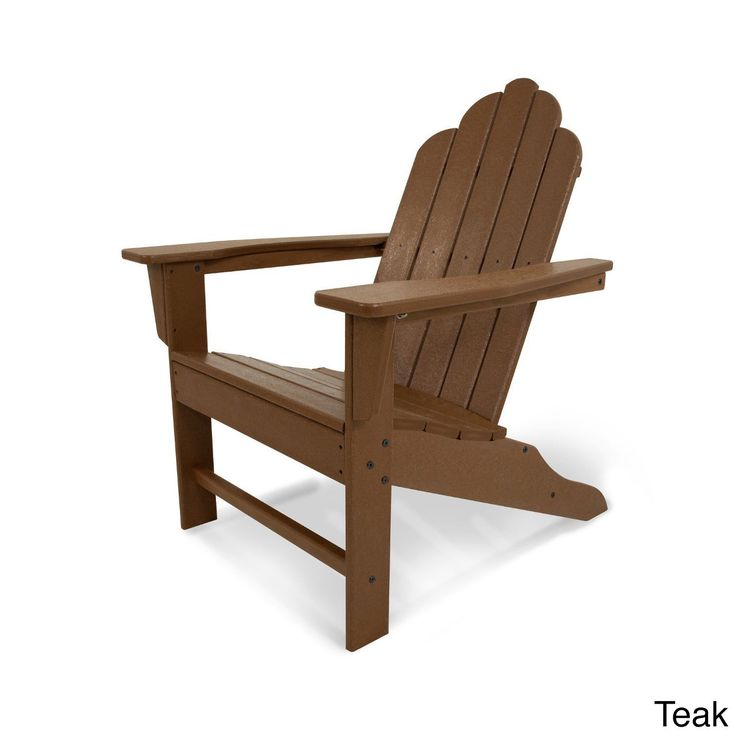17 best ideas about polywood adirondack chairs on pinterest adirondack chairs outdoor storage - Brown resin adirondack chairs ...