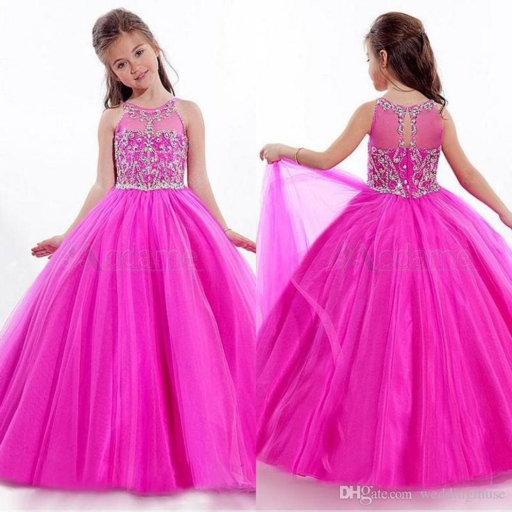 Cheap Pageant Dresses For Juniors Glitz Pageant Dresses 2015 Princess Beads Flowers Floor Length Pageant Dresses For Little Girls Dresses Custom Made Ae513a Flower Girl Dresses 2015 From Weddingmuse, $111.96| Dhgate.Com