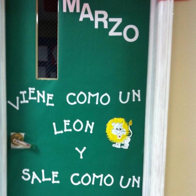 Elementary Spanish class
