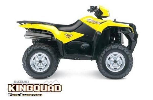 2005 2006 2007 Suzuki King Quad ATV Lt-a700 Lta700 Lta 700 Lt King Service / Repair / Workshop Manual - Item 90168370