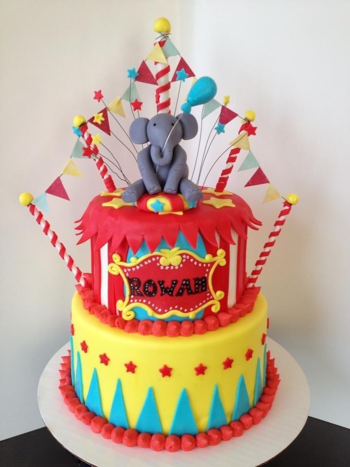 ... birthday cake!!  Circus Birthday  Pinterest  Birthday cakes
