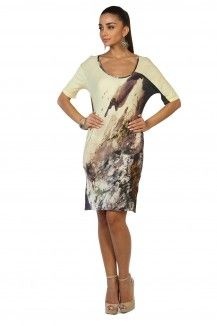 Ecru Prints Highlighted Multicolored Dress  Rs. 1,845