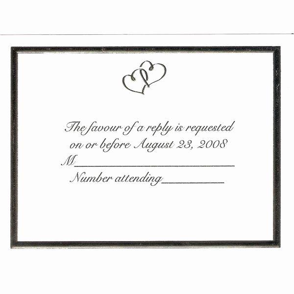 Rsvp Cards Templates Free New Custom Wedding Invitations