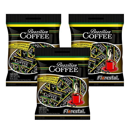 Florestal Coffee Candy Authentic Real Brazilian Coffee Flavored Hard Treats  Gluten Free  84 Pieces 300 g *** Click on the image for additional details.Note:It is affiliate link to Amazon.