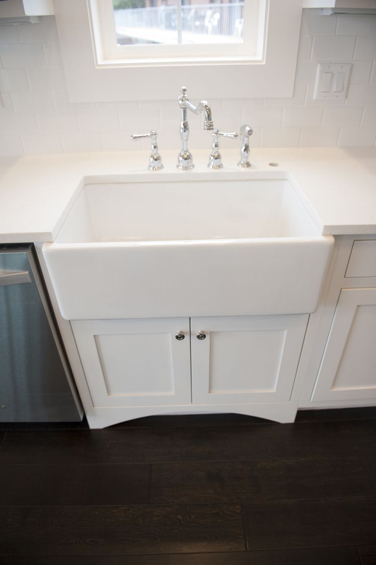 Farm House Sink Danze Opulence Chrome Kitchen Faucet With Sprayer Heritage Homes Love The Faucet