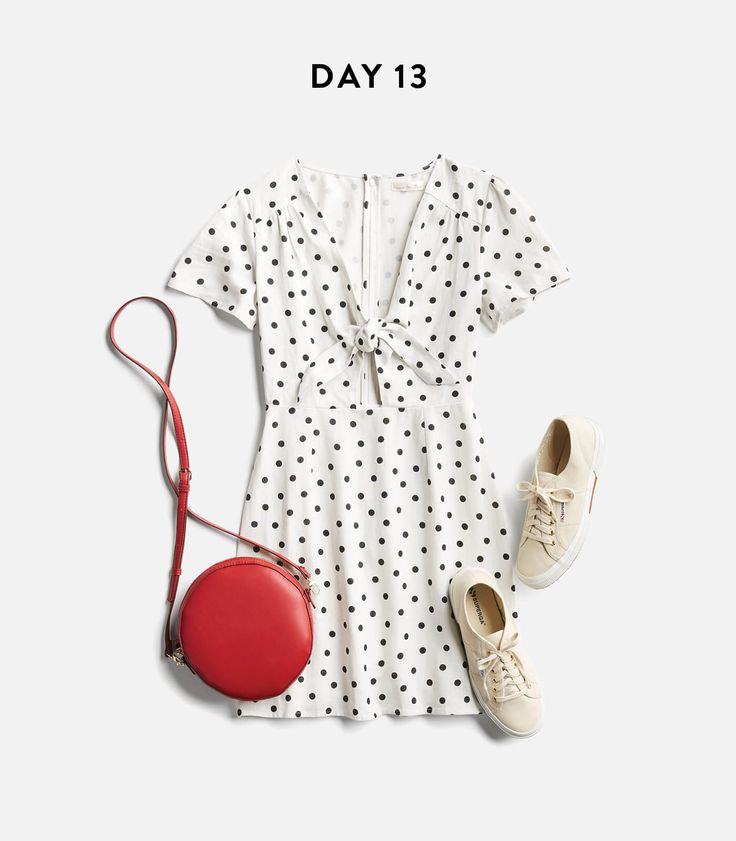 I love the idea of this polka dot dress. I'd prefer it in a color other than white (red,navy, pink, emerald, eggplant) but the shape is amazing!