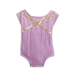 American Girl® Clothing: Isabelle's Purple Leotard 2014