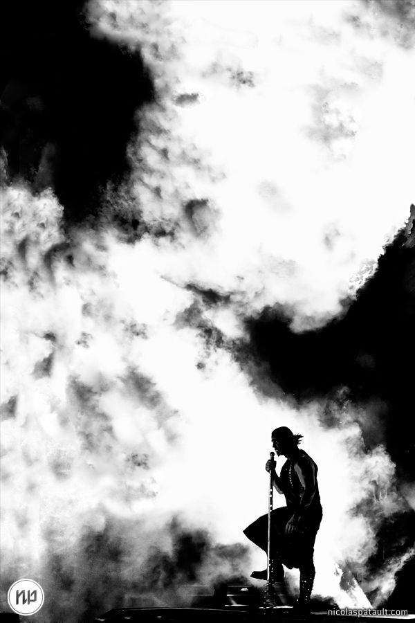 Rammstein : one of my favorite concert photography by Nicolas Patault on 500px