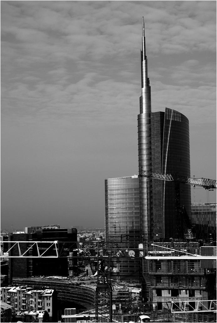La #Torre Hines - #Cesar Pelli #Milano