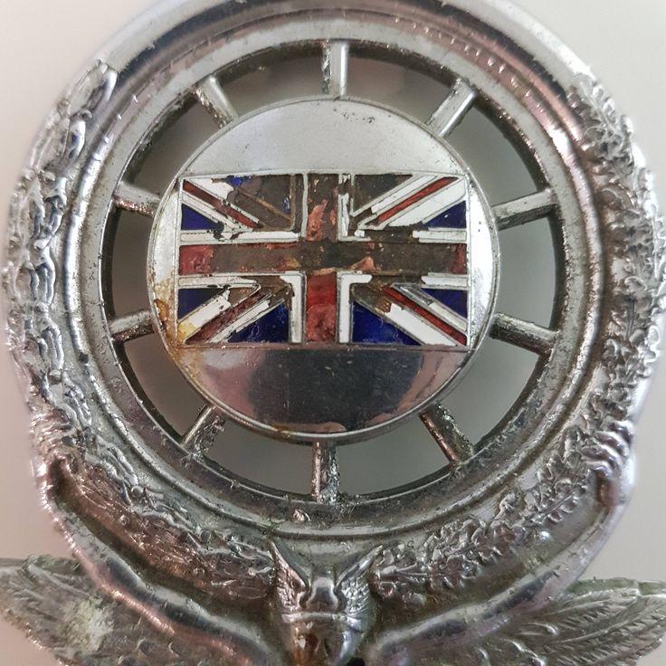 Vintage Royal Automobile Club Hood Badge   Membership badge, RAC Badge, Edward VII, Grill Badge, Car Hood Badge, Royal Auto Club, ornament by Jimpiphanys on Etsy