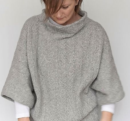 17 best images about laine fonty on pinterest belle ravelry and snood - Explication pour tricoter un poncho femme ...