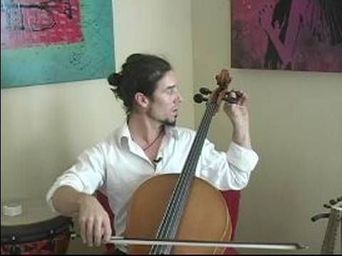 How to Play the Cello : Cello Tuning Demonstration