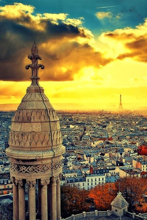 #Paris view #France. Get some great #trip_ideas and start planning your next trip! See More: RoutePerfect.com