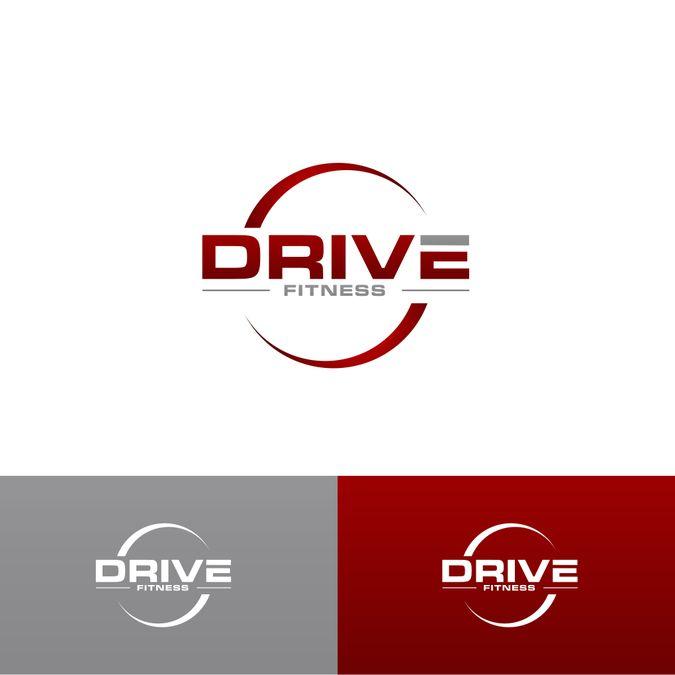 Drive Fitness Logo By Akiv Art Fitness Logo Logo Design Contest Logo Design