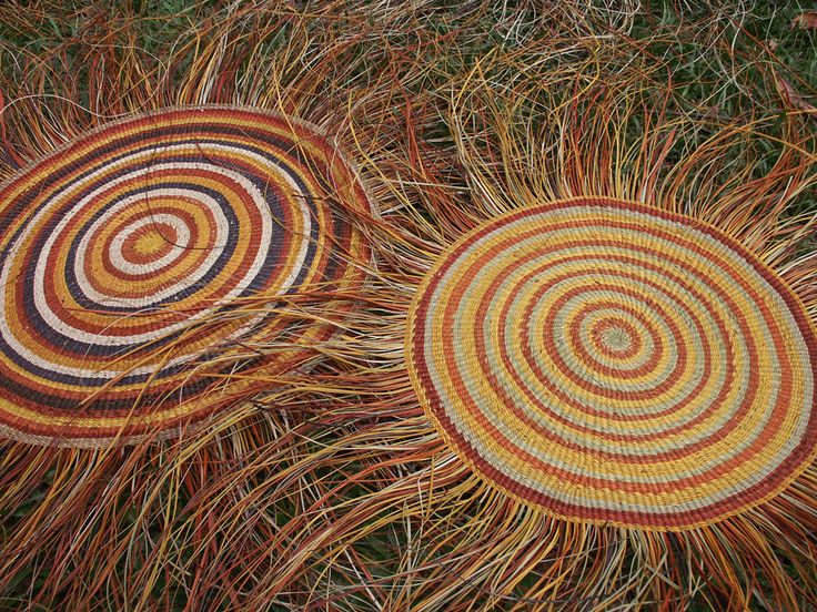 Aboriginal basket weaving