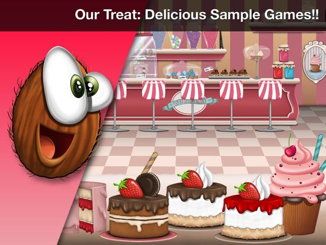 A quick demonstration of the sample games created using Coconut2D Studio.