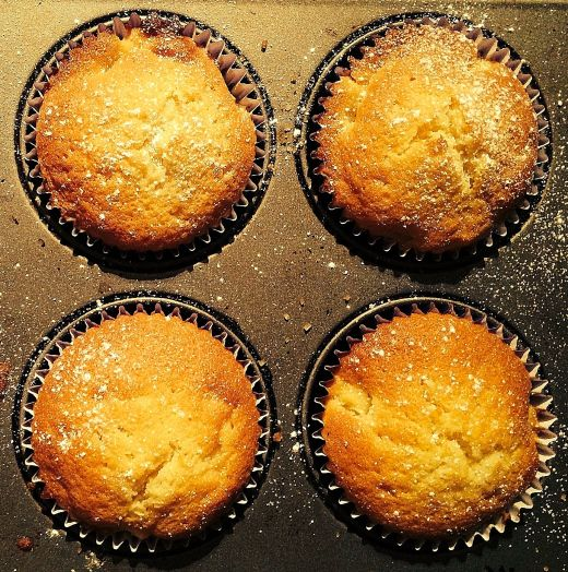 Apple, Sultana & Vanilla Cakes - fluffy, light and moist. Simple to make and quick.