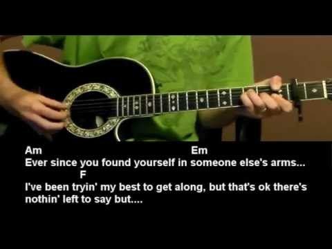 Learn how to play the song You'll Think Of Me - Keith Urban - Guitar Lesson Tutorial - Best Beginner Guitar Lessons, where you will learn how to play the guitar the right way...