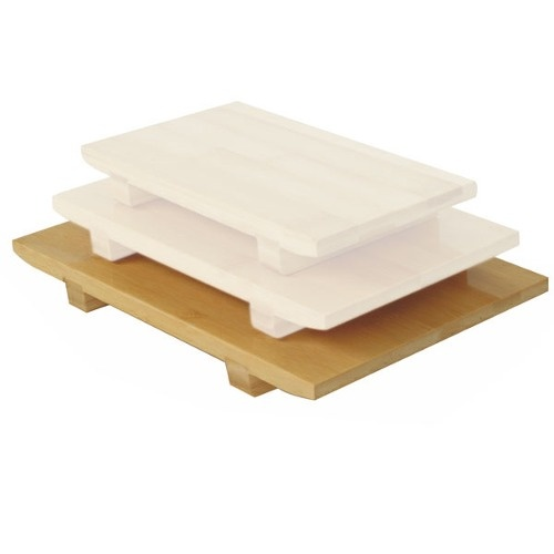 Large Bamboo Sushi Serving Board - 10 1/2