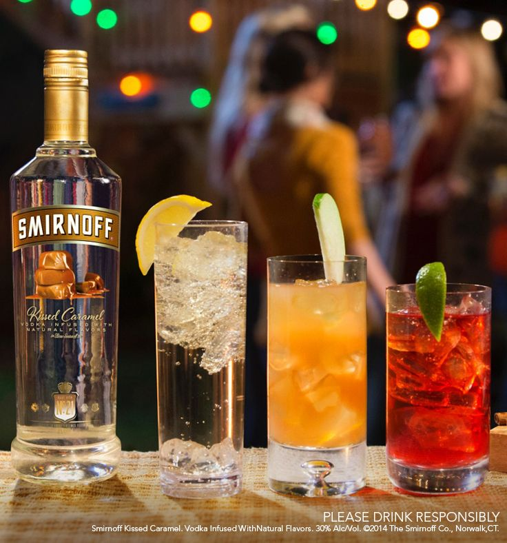 Celebrate not working the weekend or take a break from working the weekend with these work-free, fall-friendly cocktails.   Just mix Smirnoff Kissed Caramel with ginger ale, apple cider, or cranberry juice. #delicious #drink #holiday #recipe #party #Thanksgiving