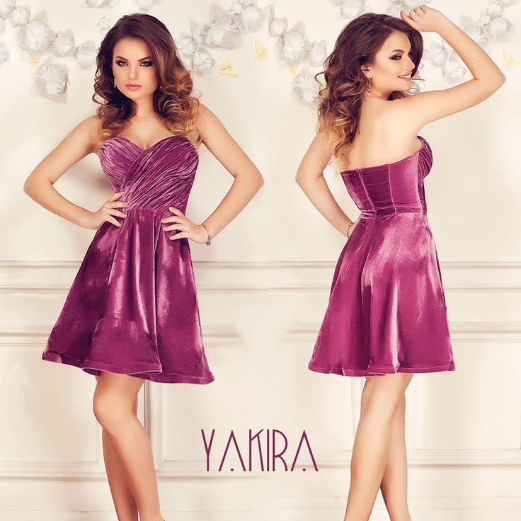 Short elegant velvet dress in lilac hues and with folds at the bust: https://missgrey.org/en/dresses/short-elegant-dress-made-from-velvet-folded-bust-lilac-shade-yakira/470?utm_campaign=decembrie&utm_medium=rochie_yakira_lila&utm_source=pinterest_produs