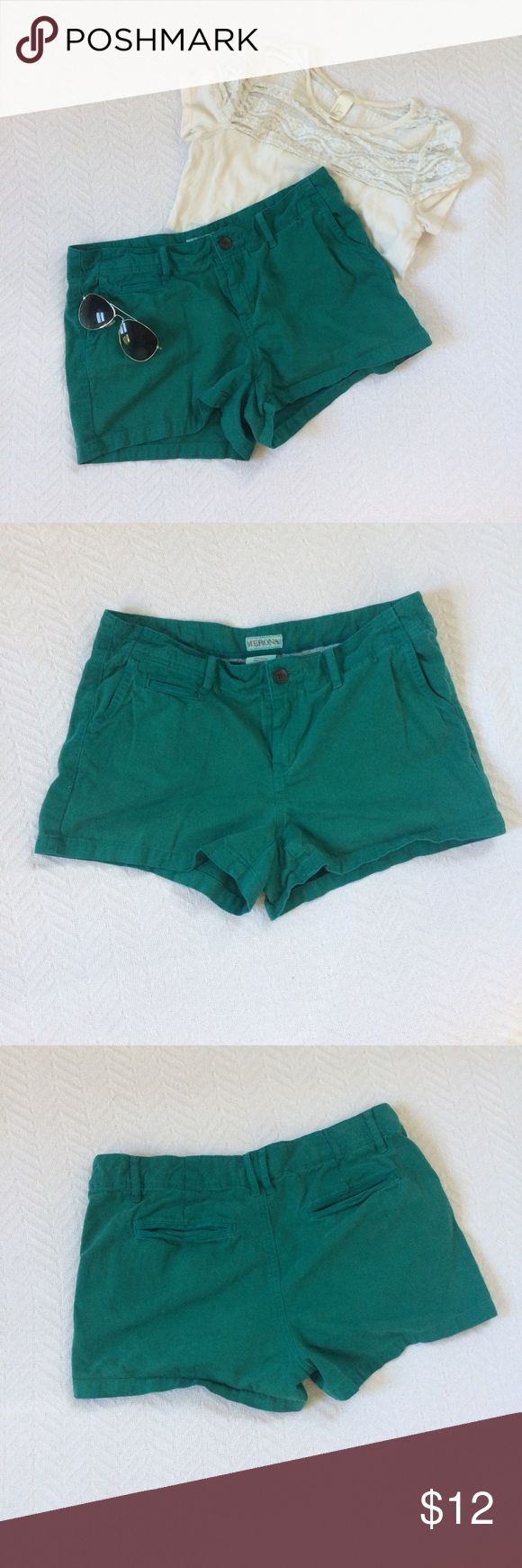 Teal/Aqua Shorts Teal/Aqua shorts worn once, super cute and has the best pockets ever {lots of room/storage}. Shorts