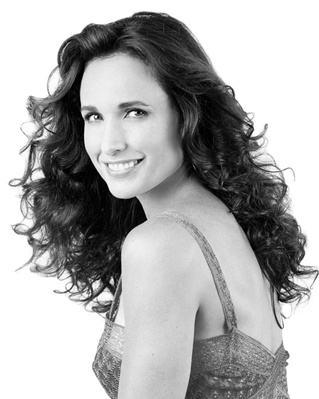 Andie MacDowell always loved,,and very disappointed by how crappy her new show on tv is