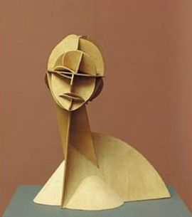 Constructed Head Naum Gabo 1915