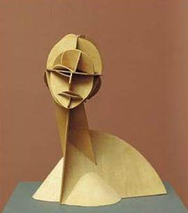 Constructed Head Naum Gabo 1915