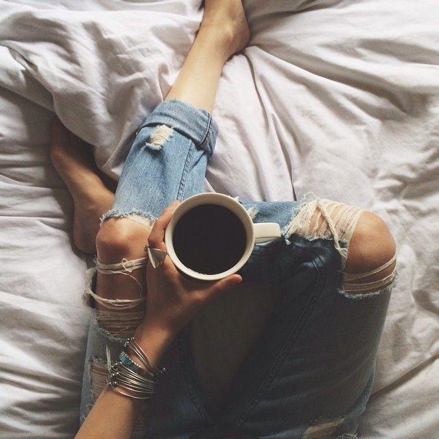 Sunday mornings....more like every morning