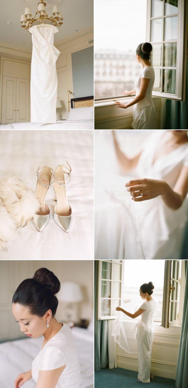Romantic, Stylish Paris Elopement | Interior Design Seminar  http://www.interiorredesignseminar.com/interior-design-inspirations/romantic-stylish-paris-elopement/