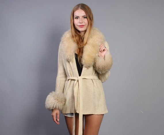 Red Sweater With Fur Collar 31