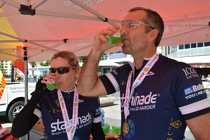 Looking back to the Oceanway Ride earlier this year on the Gold Coast. What a fantastic cycling event it was and we loved seeing everyone rehydrating with Staminade! . #staminade #oceanwayride #cycling