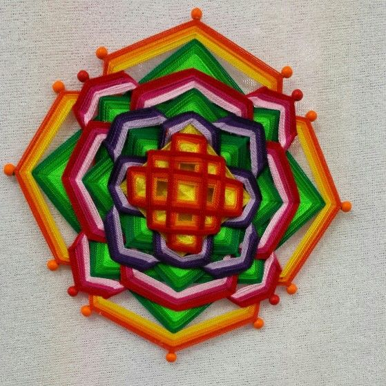 Mandala tibetano 30 cm