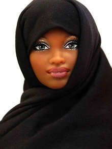 A gorgeous Muslim Barbie :)