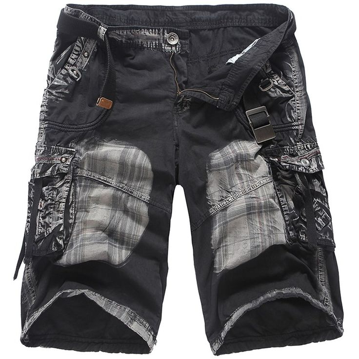 Mens Unique Casual Cargo Shorts