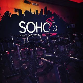 I sweat it out today at Soho cycling. This year has been about getting out of my comfort zone and believe me I am not a cycling girl but had a great time! Met my girl Adina there. Some times just starting something new is the hardest part! Having a friend there to help with goals helped. If I had let my fear and anxiety get the best of me I would not of gotten a great workout. Sometimes change is good!