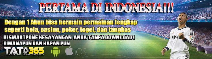 tato365 merupakan agen taruhan bola piala dunia 2018 paling terpercaya di Indonesia dengan bonus cashback hingga 10%.  https://tato365.logdown.com/
