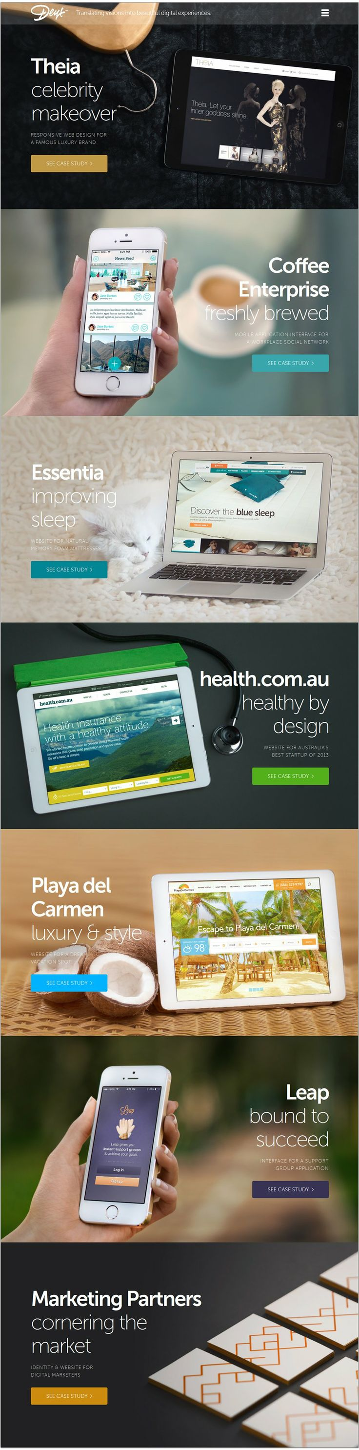 Cool Web Design on the Internet, Deux. #webdesign #webdevelopment #website @ http://www.pinterest.com/alfredchong/web-design/