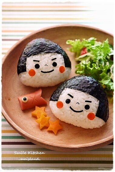 KINTARO onigiri for boy's festival in May 5