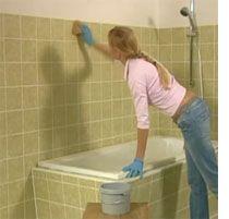Painting Bathroom Tile Kits best 25+ painting bathroom tiles ideas only on pinterest | paint