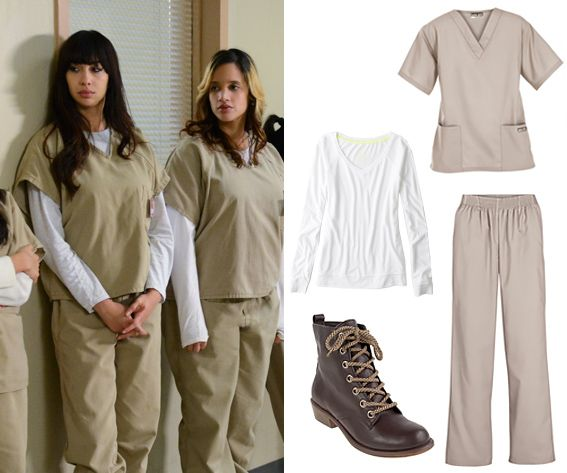 10 Best 2014 Pop Culture Halloween Costumes - Orange is the New Black Prison Inmate from #InStyle