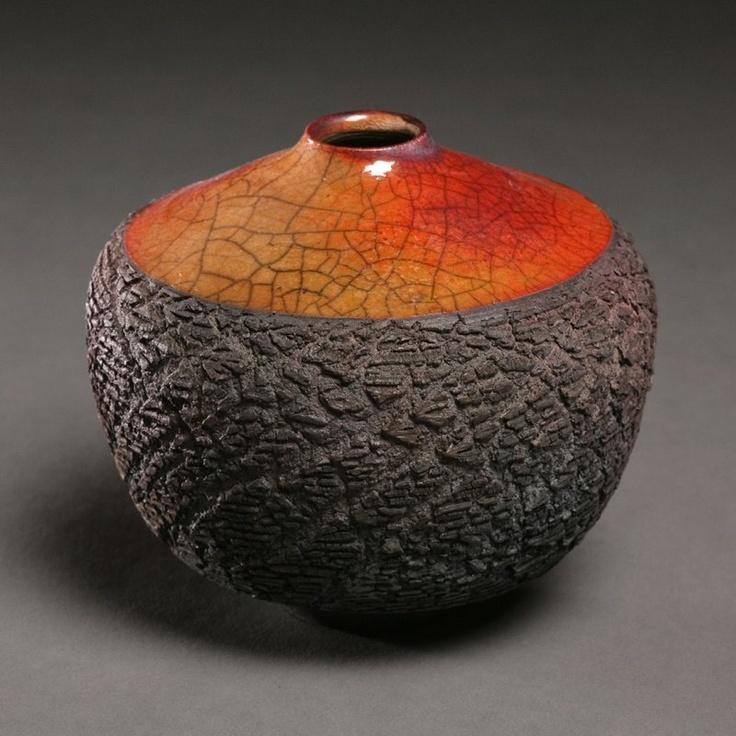 Tim Scull, amazing ceramic artist doing raku and sagger fired work