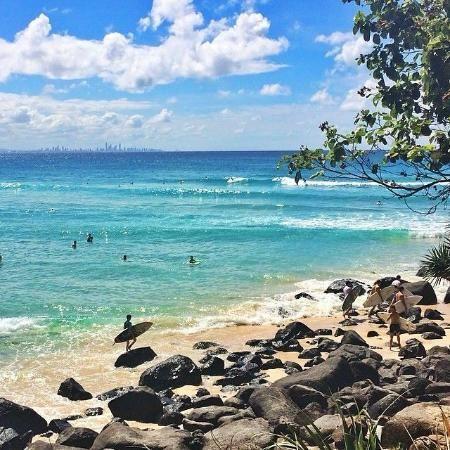 白い砂浜に青い海が美しい!ゴールドコースト 旅行・観光のおすすめスポット!