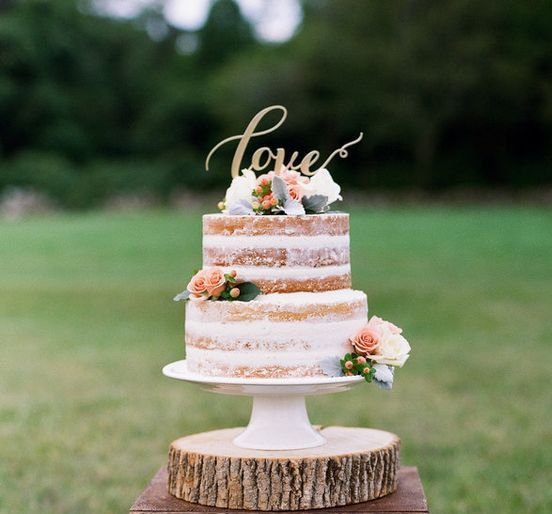 Gold Cake Topper Liebe. Hochzeit Gold Cake Topper.   – Dessert Tables | Wedding & Birthday Cake