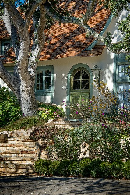 Cute Cottage - Hugh Comstock Architecture - Monterey Penninsula, California