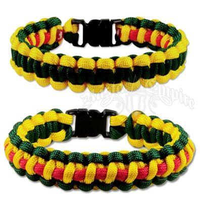 Jamaican Color Swimsuits | Rasta/Jamaican Paracord Bracelet @ RastaEmpire.com