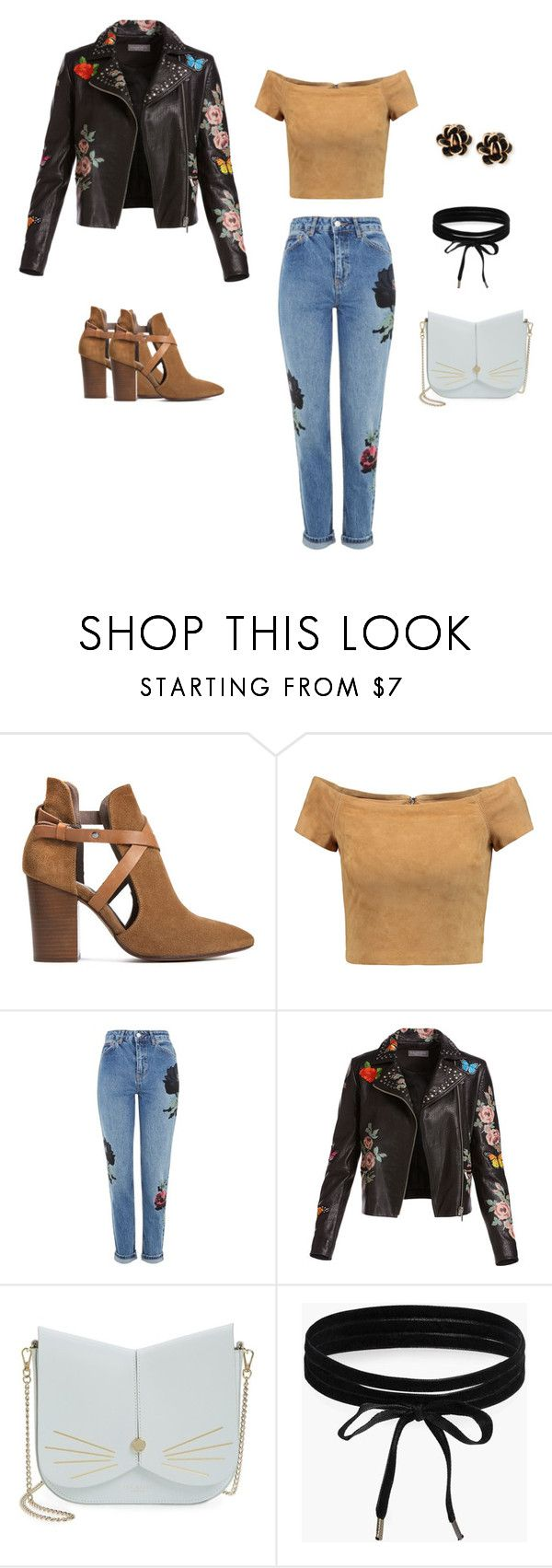 """""""Caramel rose"""" by ustine on Polyvore featuring moda, H London, Alice + Olivia, Topshop, Bagatelle, Ted Baker, Boohoo i Chantecler"""